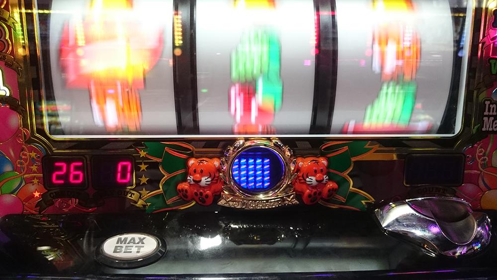 【マイジャグラー3】15分割のプレミアムGOGO!ランプ
