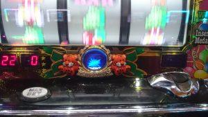【マイジャグラー3】青色のGOGO!ランプのプレミアム点灯
