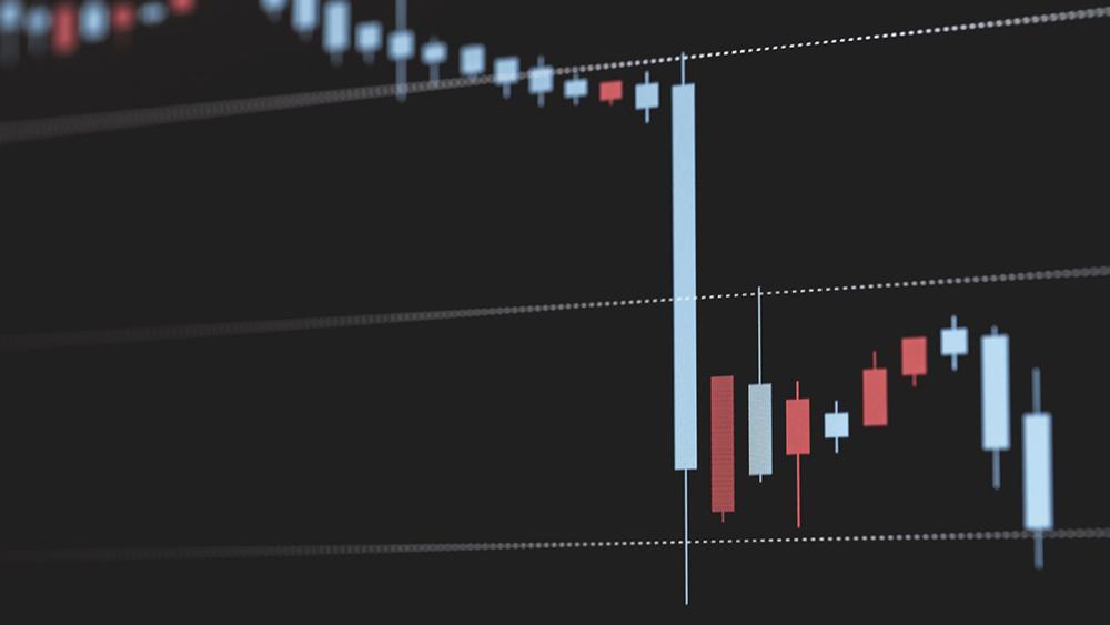 仮想通貨のチャートが下がる!