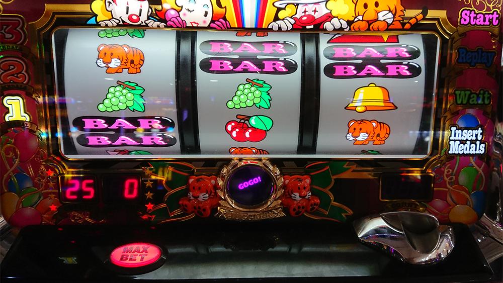【マイジャグラー3】GOGO!だけのプレミア点灯